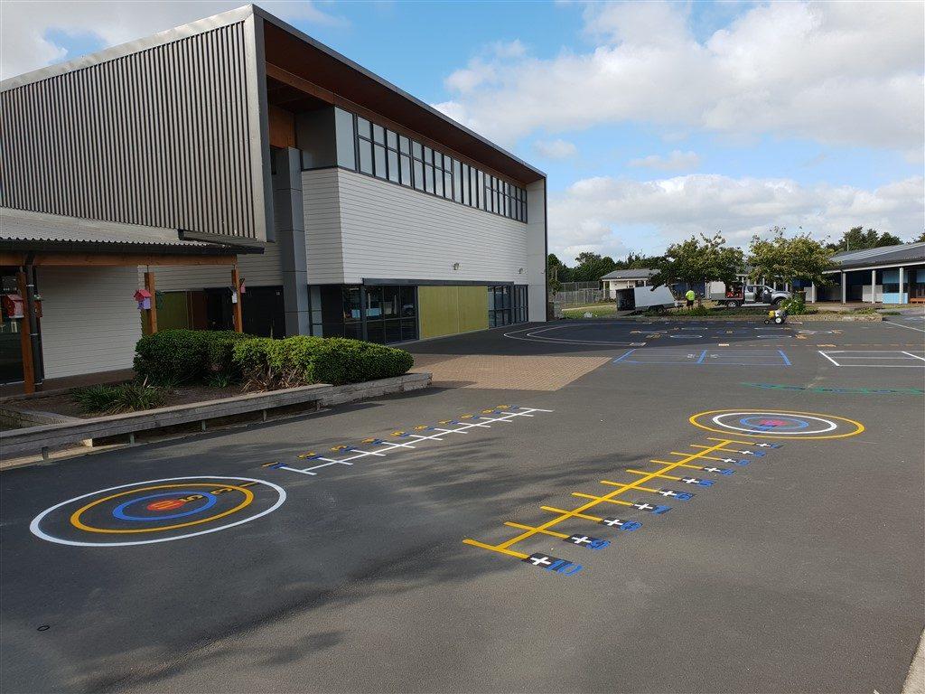 Playground Markings NZ