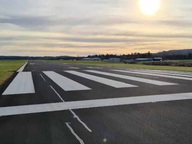 Rotorua Airport Runway