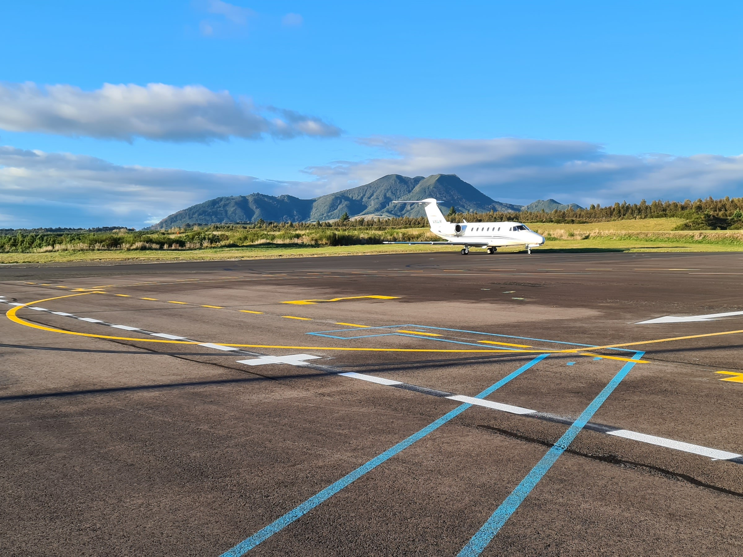 Airport Apron Line Marking